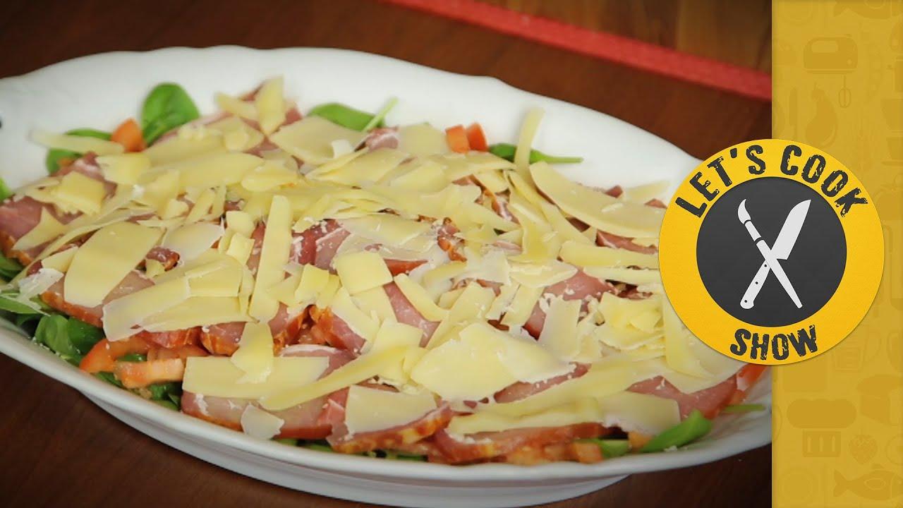 Салат с балыком рецепт