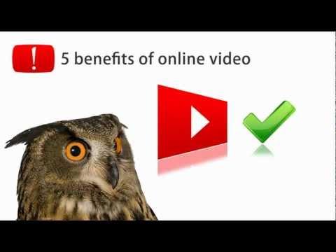 Web Video: Top 5 Marketing Benefits