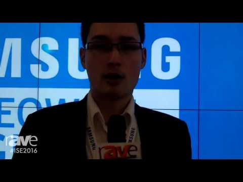 ISE 2016: Samsung Shows rAVe Their World's Thinnest Bezel Video Wall with Ultra High Definition