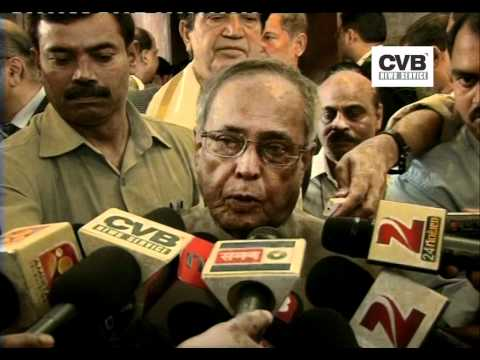 DOUBLE DIGIT FOOD INFLATION IS A MATTER OF CONCERN: PRANAB MUKHERJEE