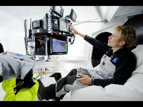 Quand l'ordinateur prend la barre... François Gabart, vainqueur du Vendée Globe 2013