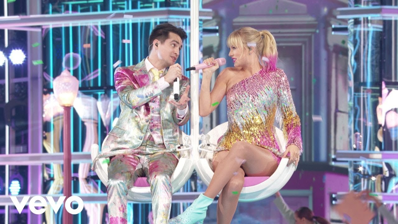 """Taylor Swift - 「Billboard Music Awards 2019」から""""ME! (feat. Brendon Urie of Panic! At The Disco)""""のライブ映像を公開 thm Music info Clip"""
