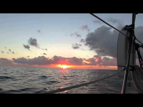 Video #2 in the series -- Sailing - Kemah, TX to St. Petersburg, FL | 2-9-2014