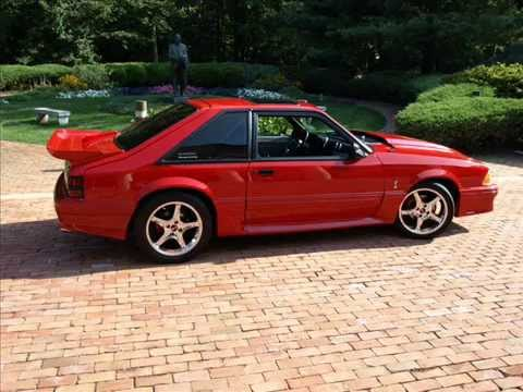 1989 Mustang Gt Youtube