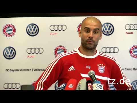 Pep Guardiola adelt Arjen Robben: