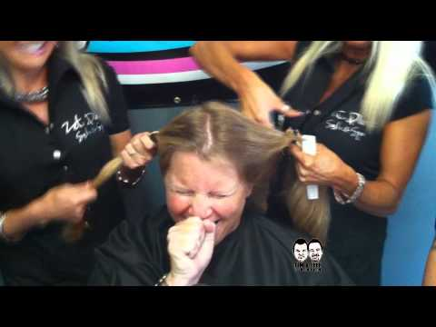 Trina shaves her head to win Justin Bieber tickets
