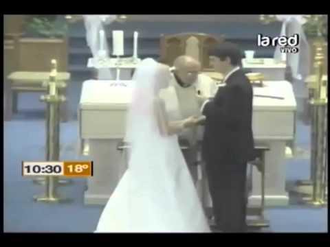Impresionantes videos de chascarros de matrimonios