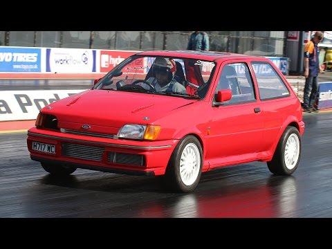Ford Fiesta AWD Cosworth YB - Drag Racing