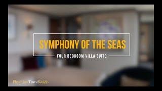 Symphony of the Seas Villa Suite Four Bedroom
