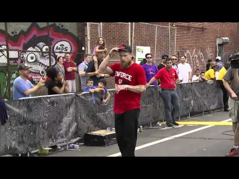 Mike Vallely, Skate Streetstyle: Run 1, Toyota City Championships Brooklyn 2014