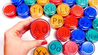 Learn ABCs with Sand Sifter Toys for Children | Learning with Yippee Toys