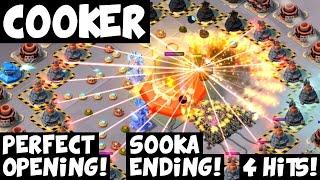 Cooker: 4 Hits! ✦ Perfect Opening, Sooka Ending! ✦ Forlorn Hope ✦ Boom Beach