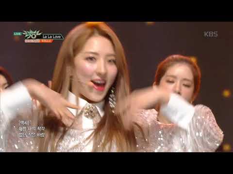 뮤직뱅크  Bank - 라라러브La La Love - 우주소녀WJSN20190215
