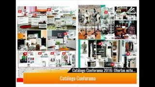 ¡Catálogo Conforama 2017!