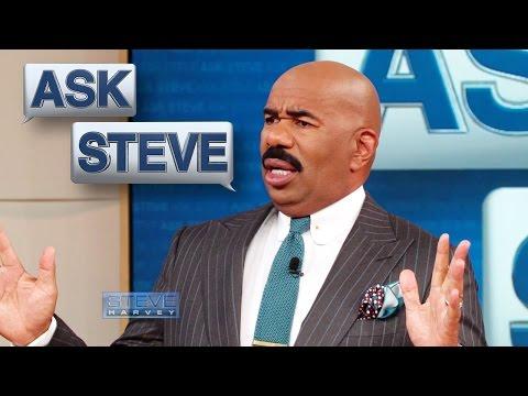 Ask Steve: You can't ask Steve EVERYTHING! || STEVE HARVEY