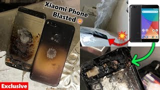 Xiaomi Phone Blasted While Charging 💥🔥(With Live Video)
