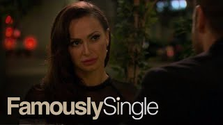 Karina Smirnoff Makes Potential Beau Chad Johnson Do What?! | Famously Single | E!