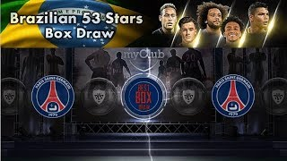 Brazilian 53 Stars Box Draw Opening ⚡ Black Balls Trick - PES 2018