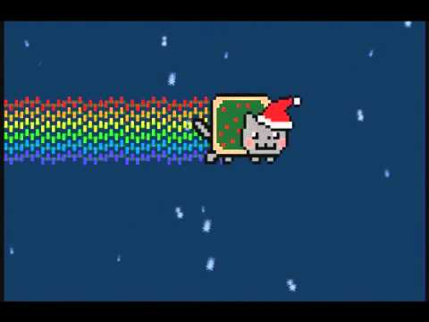 CHRISTMAS NYAN CAT EPIC EXTENDED REMIX EDITION OVER 1 HOUR OF NON STOP HOLIDAY POPTART GOODNESS!!