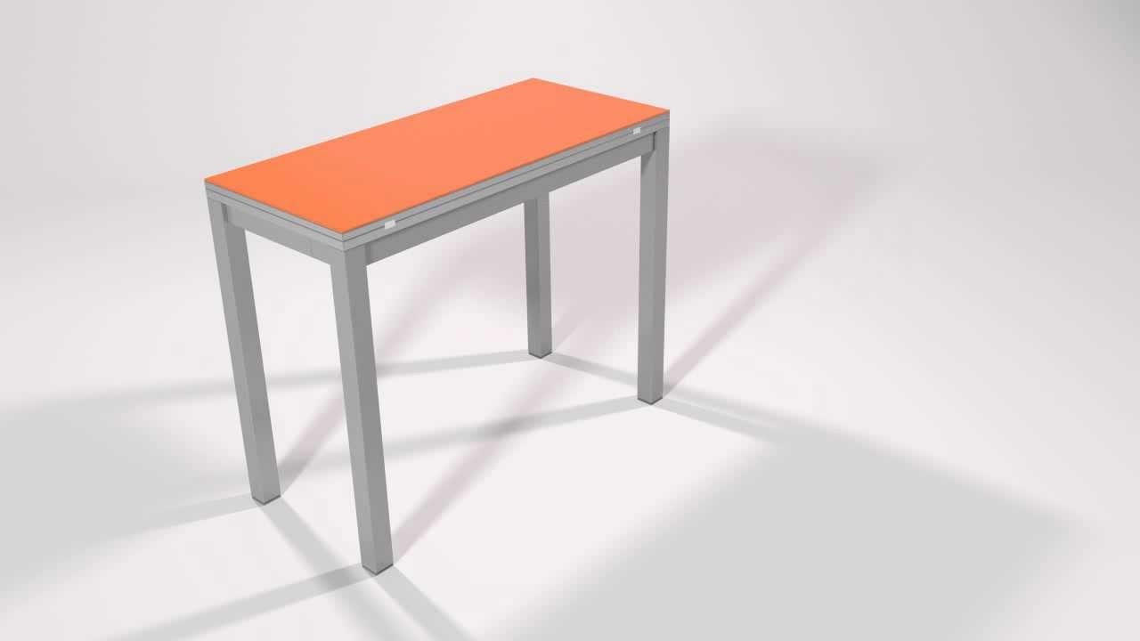 Mesas de cocina extensibles tipo libro modelo milenium - Mesa cocina plegable tipo libro ...