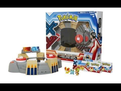Pokémon X & Y TOMY Battle Arena Playset Unboxing , Review Giveaway Expires Dec 1st 2013