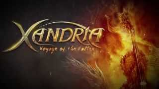 XANDRIA - Voyage Of The Fallen (Lyric Video)