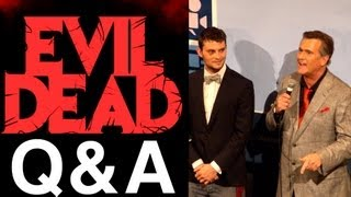 Full EVIL DEAD Q&A: Bruce Campbell, Fede Alvarez & Cast (World Premiere at SXSW Film Festival)