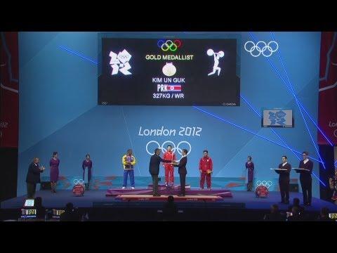 DPR Korea's Kim Wins Weightlifting 62kg Gold - London 2012 Olympics