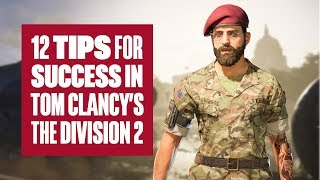 12 tips for success in The Division 2