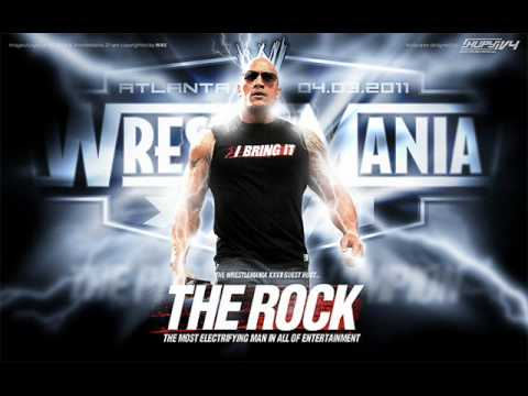 Wwe Soundtrack - Dwayne the Rock Johnson Music video