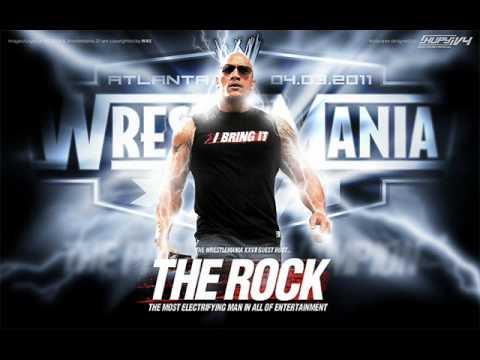 Wwe Soundtrack - Dwayne the Rock Johnson Music video