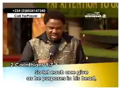 The Secret Of Blessing 1 2 -t. B. Joshua - Prebudenie video