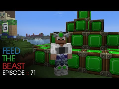 Minecraft Feed The Beast - E71 :: It's kind of not cheating