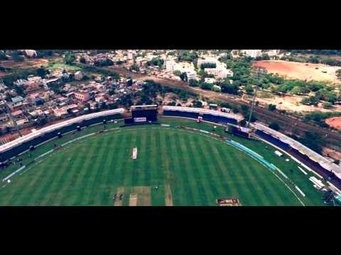 2015 Karnataka Premier League Season 4 Begins Here at Hubli | Intro of KSCA cricket Stadium Hubli