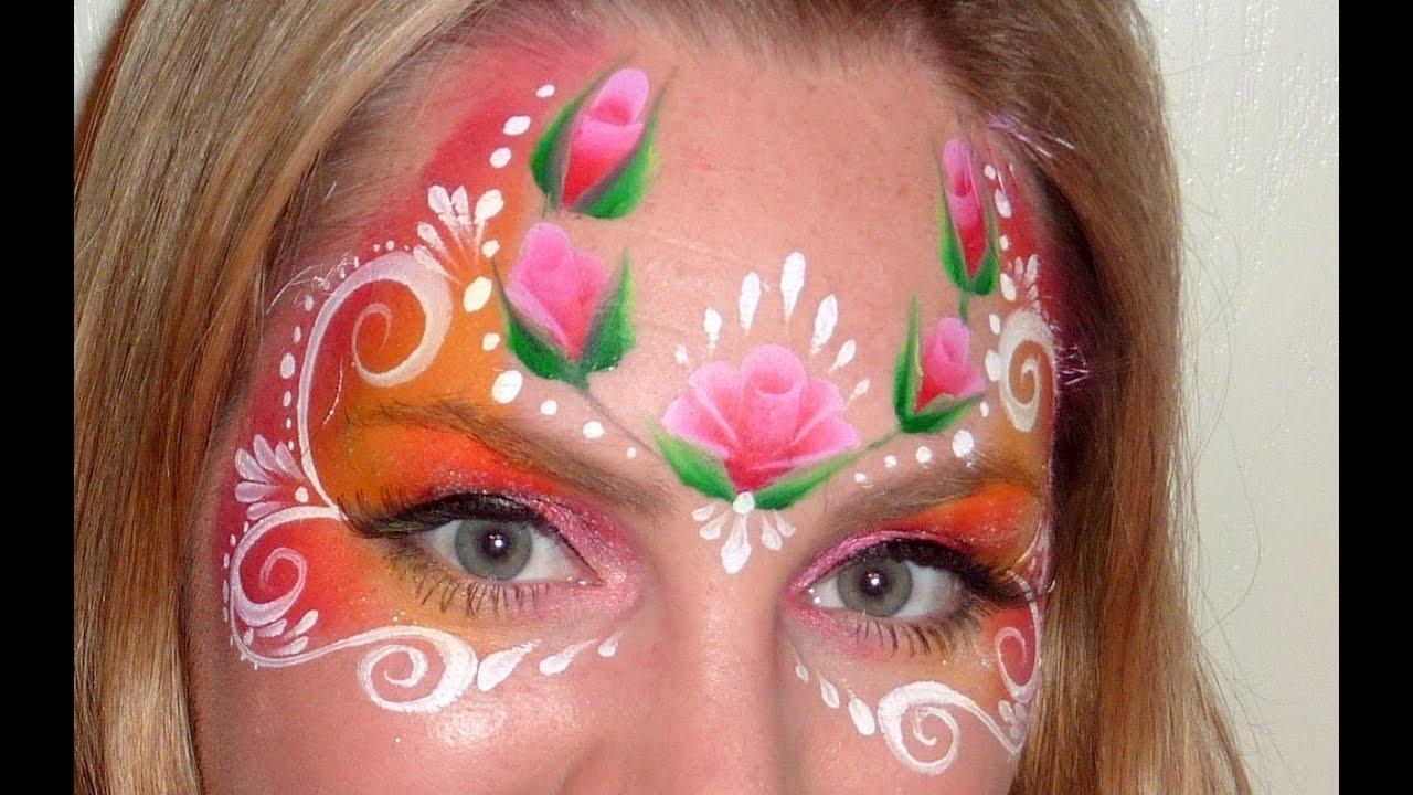 Ютуб как рисовать на лице