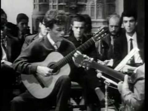 Andrés Segovia (Master Class 1965) with Mike Lorimer (part 1)