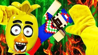 Realistic Minecraft - FNAF CHICA IN REAL LIFE!