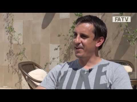 How to be a pundit with Gary Neville - England coach talks to FATV from the UEFA Pro Licence course