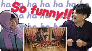 Korean mans Reaction Faizal Tahir - Ragaman