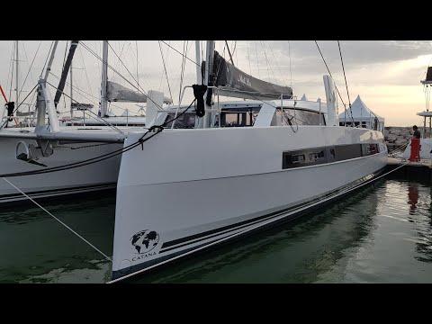 Catana 53 catamaran Walkthrough at Cannes 2017