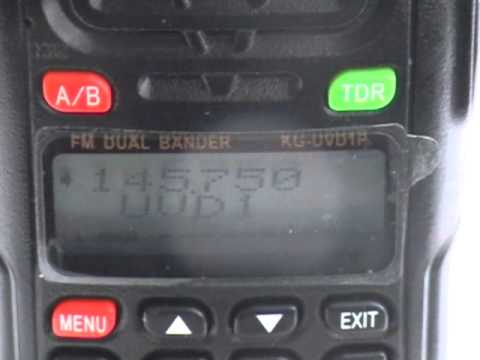 Austrian Ham radio station on 2 metres
