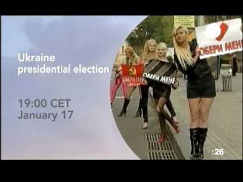 EURONEWS - 2010.01.17 - Выборы президента Украины анонс.avi