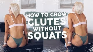 Build Glutes WITHOUT Squats