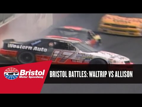 Bristol Battle: Darrell Waltrip vs. Davey Allison (1991)
