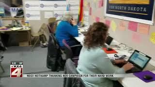 News   Heidi Heitkamp Election Night 530PM Update