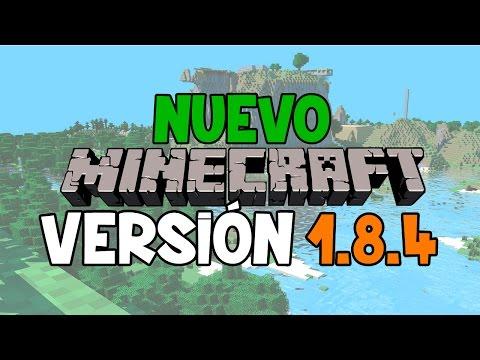 MINECRAFT 1.8.4 UPDATE REVIEW | NOVEDADES Y MEJORAS NUEVA VERSION MINECRAFT 1.8.4 EN ESPAÑOL