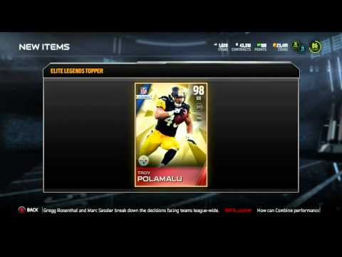 Madden 15 Ultimate Team :: My GREATEST Topper EVER! Legend Bundle ::-XBOX ONE Madden 15 MUT