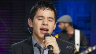 Клип David Archuleta - My Hands (live)