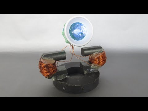How to make magnetic generator free energy light - New ideas easy for projects free energy