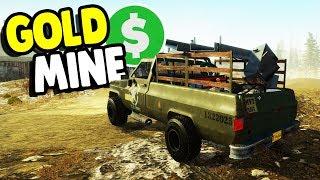 GOLD MINE START UP - $1,000,000,000 DREAM | Gold Rush: The Game Gameplay